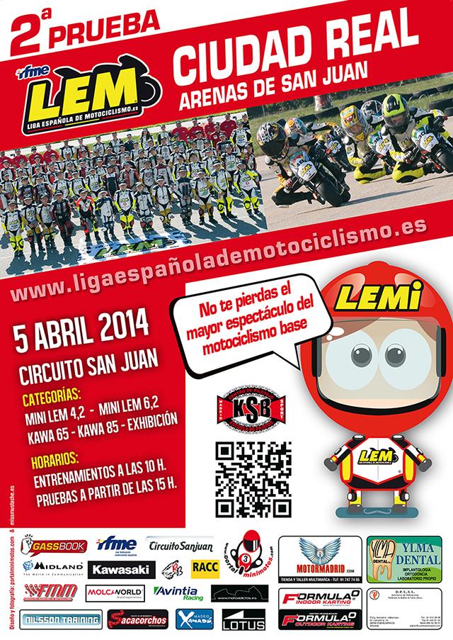 2 prueba liga española de motociclismo